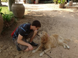 Me With Cute Dog