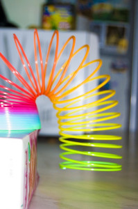 Slinky and Negative Momentum